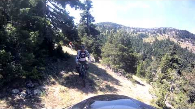 DiscoverKynouria.gr - Ποδηλασία Βουνού στον Πάρνωνα (Mountain Biking - Downhill at Mt Parnonas)